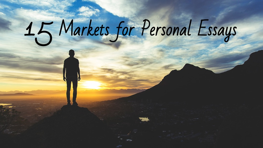 Personal essay markets